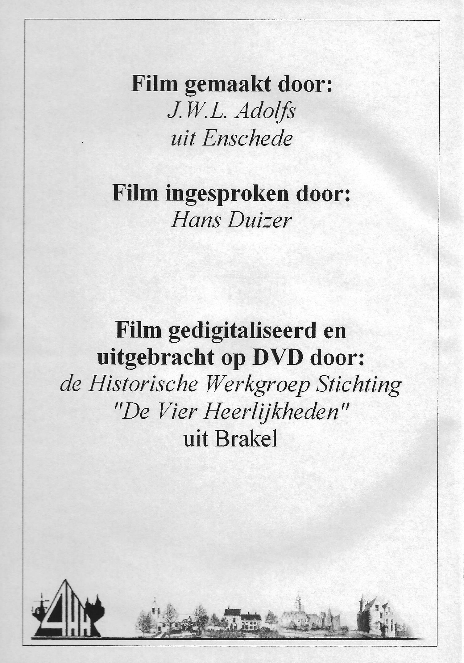 Brakel 1966 DVD back