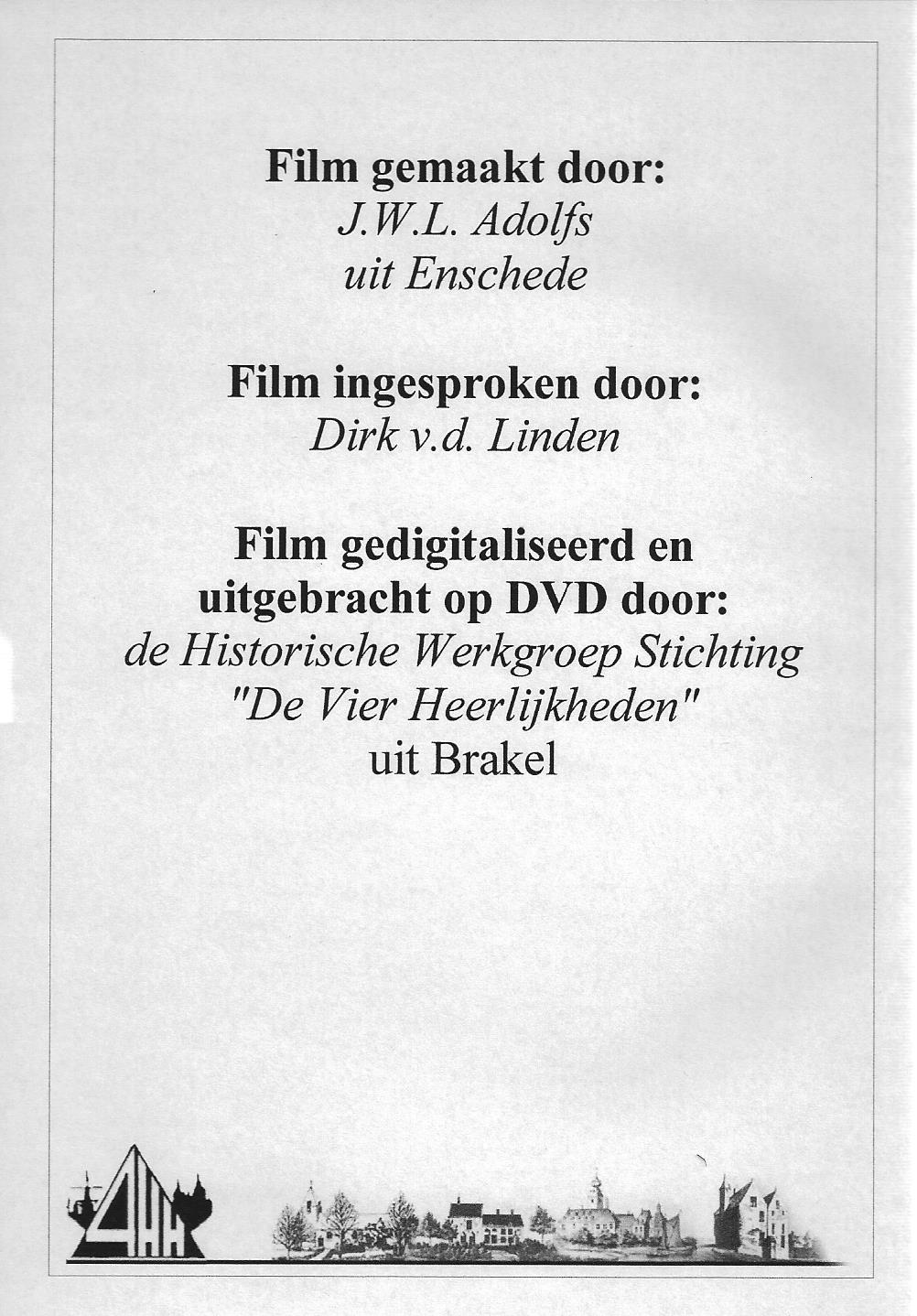 Zuilichem 1964 DVD back